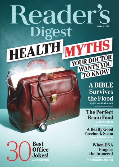 Reader's Digest Cover - 3/1/2019
