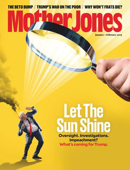 Mother Jones Cover - 1/1/2019