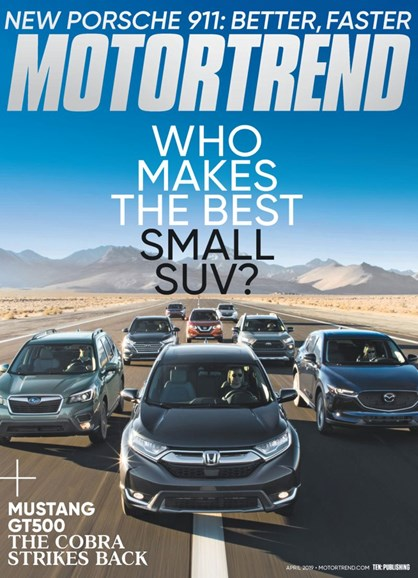 Motor Trend Cover - 4/1/2019