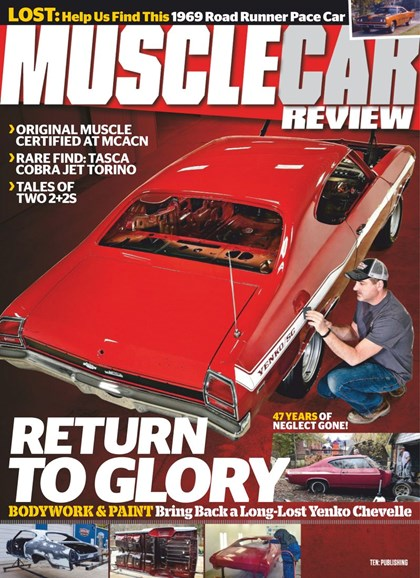 Muscle Car Review Cover - 4/1/2019