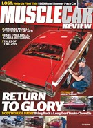 Muscle Car Review Magazine 4/1/2019