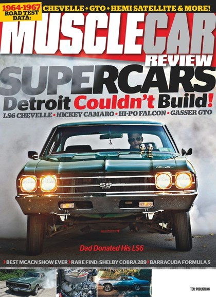 Muscle Car Review Cover - 3/1/2019