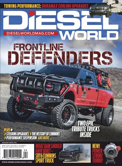Diesel World Cover - 4/1/2019