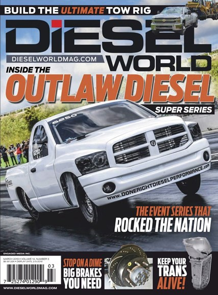 Diesel World Cover - 3/1/2019