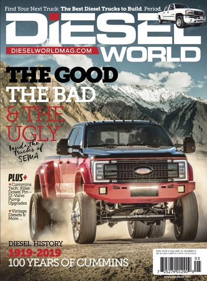 Diesel World Cover - 5/1/2019