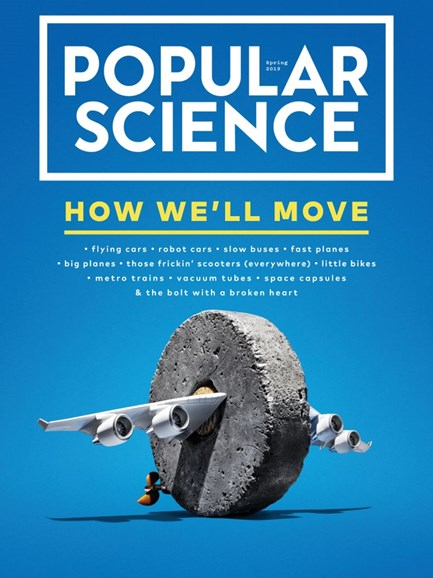 Popular Science Cover - 3/1/2019