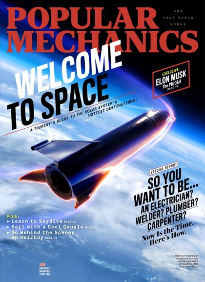 Popular Mechanics Cover - 4/1/2019