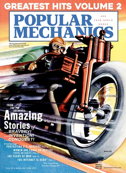 Popular Mechanics Cover - 3/1/2019