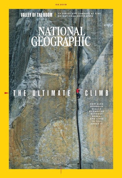 National Geographic Cover - 2/1/2019