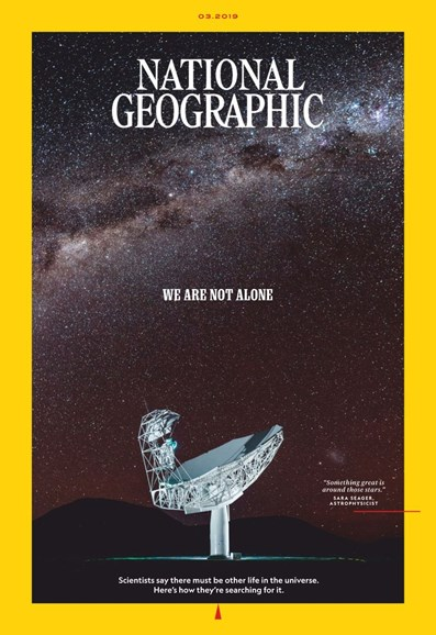 National Geographic Cover - 3/1/2019