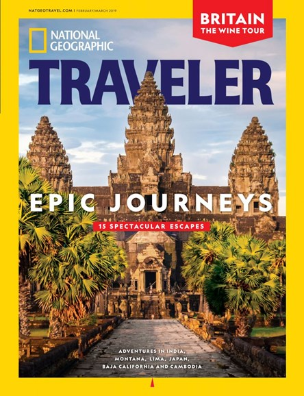 National Geographic Traveler Cover - 2/1/2019