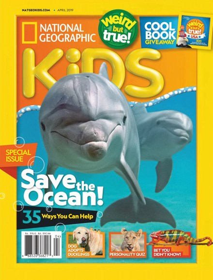 National Geographic Kids Cover - 4/1/2019