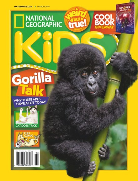 National Geographic Kids Cover - 3/1/2019