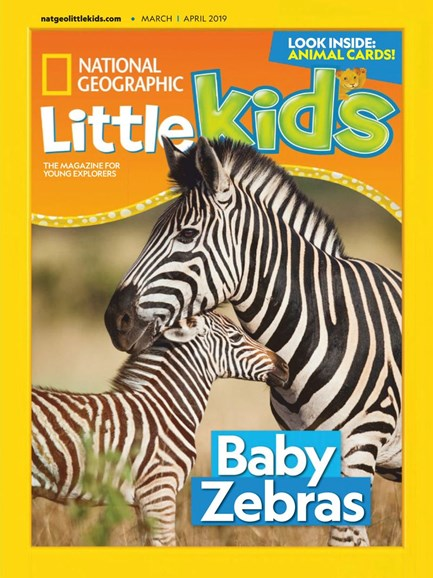 National Geographic Little Kids Cover - 3/1/2019
