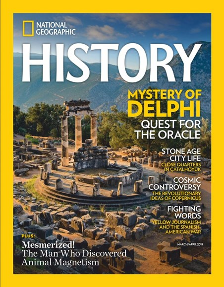 National Geographic History Cover - 3/1/2019