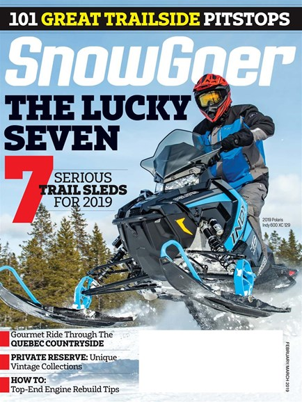 Snow Goer Cover - 2/1/2019