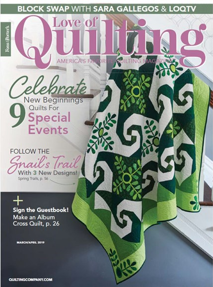Fons & Porter's Love of Quilting Cover - 3/1/2019