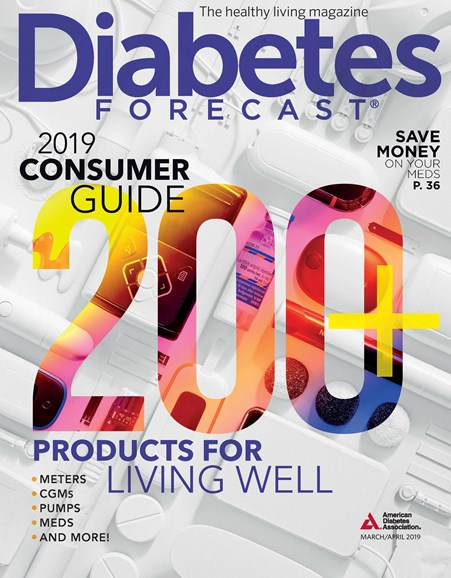 Diabetes Forecast Cover - 3/1/2019