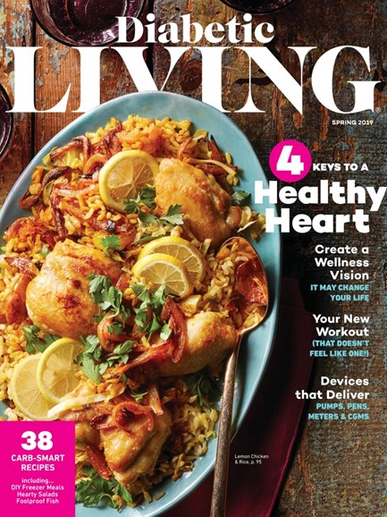 Diabetic Living Cover - 3/1/2019