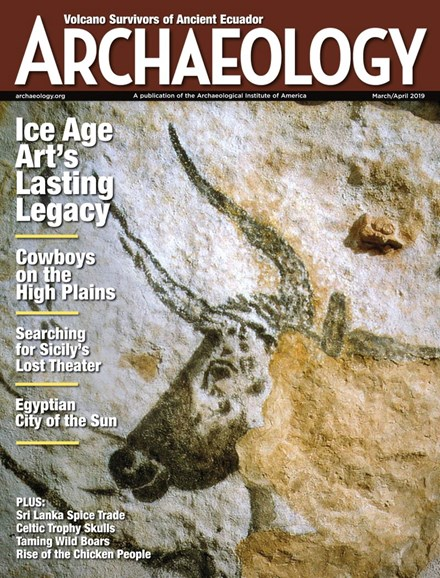 Archaeology Cover - 3/1/2019