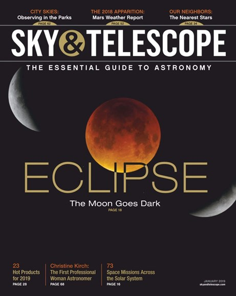 Sky & Telescope Cover - 1/1/2019