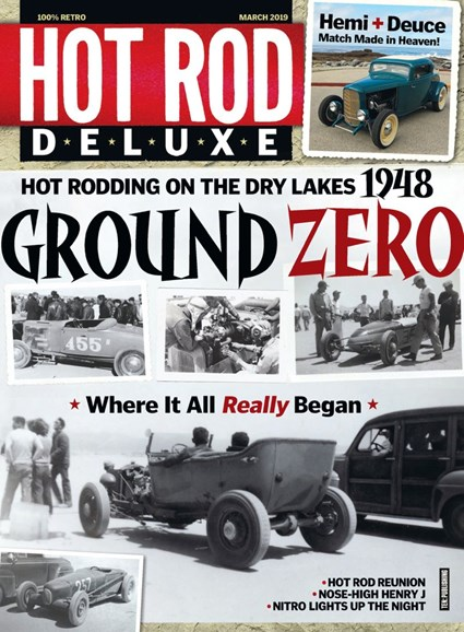 Hot Rod Deluxe Cover - 3/1/2019
