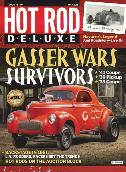 Hot Rod Deluxe Cover - 5/1/2019