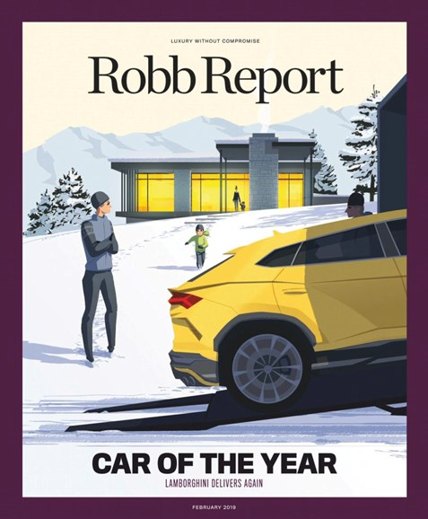 Robb Report Cover - 2/1/2019