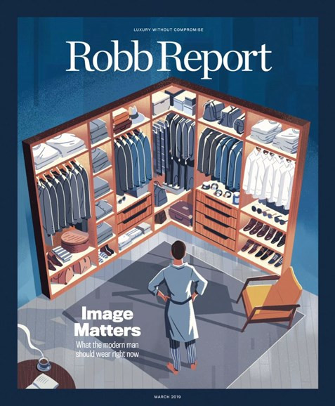 Robb Report Cover - 3/1/2019
