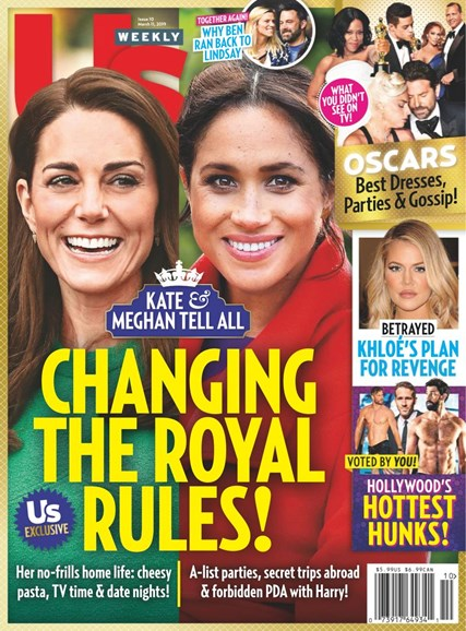 Us Weekly Cover - 3/11/2019