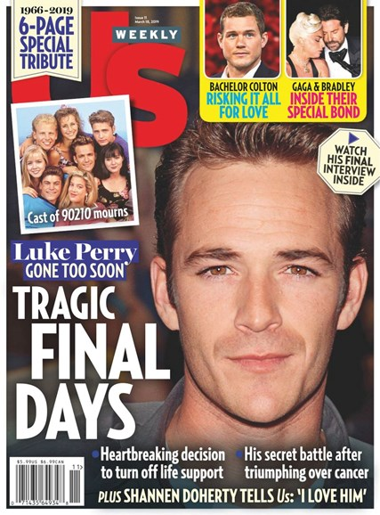 Us Weekly Cover - 3/18/2019