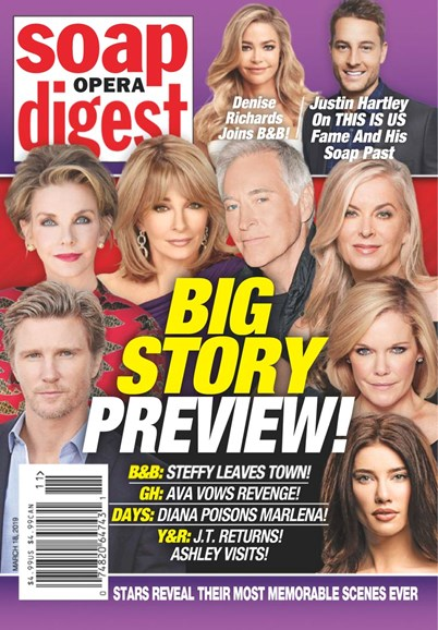 Soap Opera Digest Cover - 3/18/2019