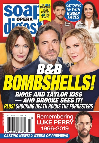 Soap Opera Digest Cover - 3/25/2019