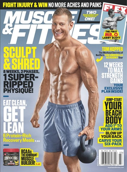 Muscle & Fitness Cover - 3/1/2019
