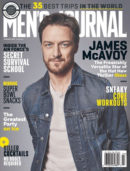 Men's Journal Cover - 2/1/2019