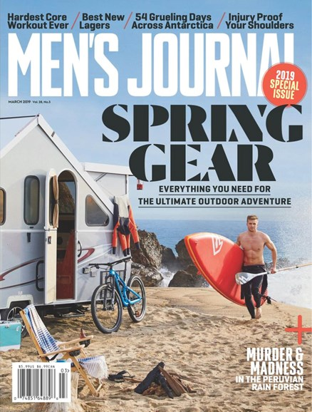 Men's Journal Cover - 3/1/2019