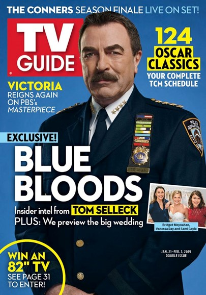 TV Guide Cover - 1/21/2019