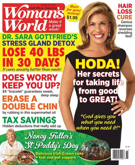 Woman's World Cover - 3/18/2019