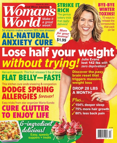 Woman's World Cover - 3/25/2019