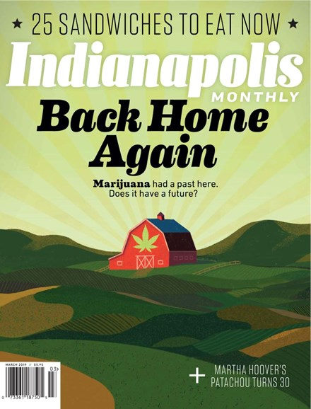 Indianapolis Monthly Cover - 3/1/2019