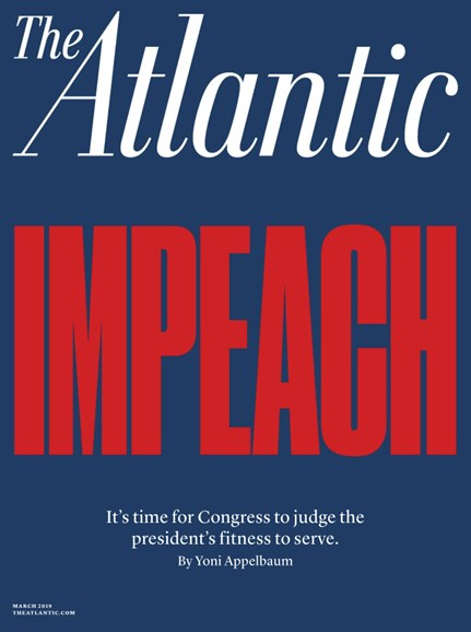 The Atlantic Cover - 3/1/2019