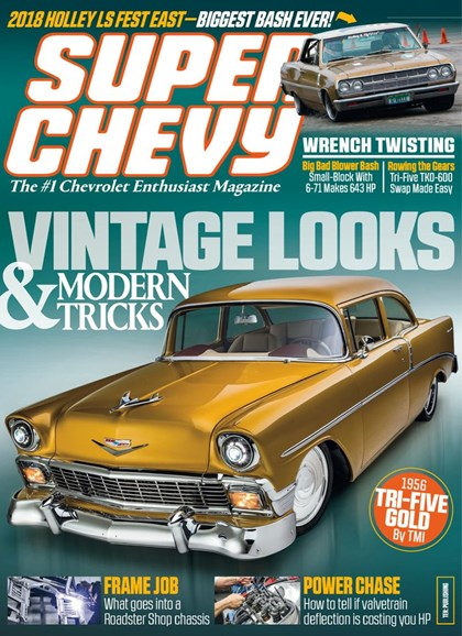 Super Chevy Cover - 1/1/2019