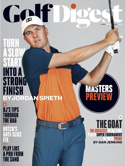 Golf Digest Cover - 4/1/2019