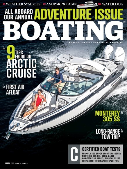 Boating Cover - 3/1/2019