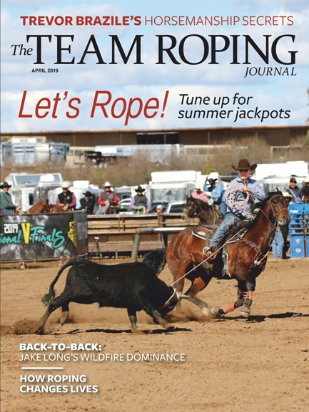 The Team Roping Journal Cover - 4/1/2019