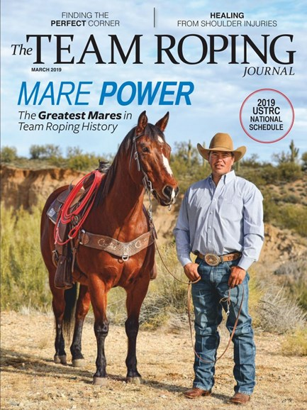 The Team Roping Journal Cover - 3/1/2019