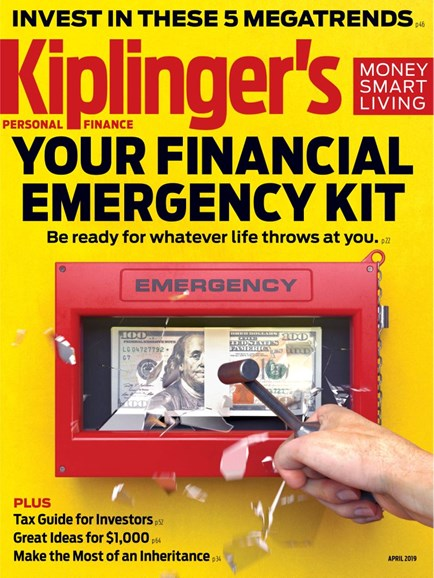 Kiplinger's Personal Finance Cover - 4/1/2019
