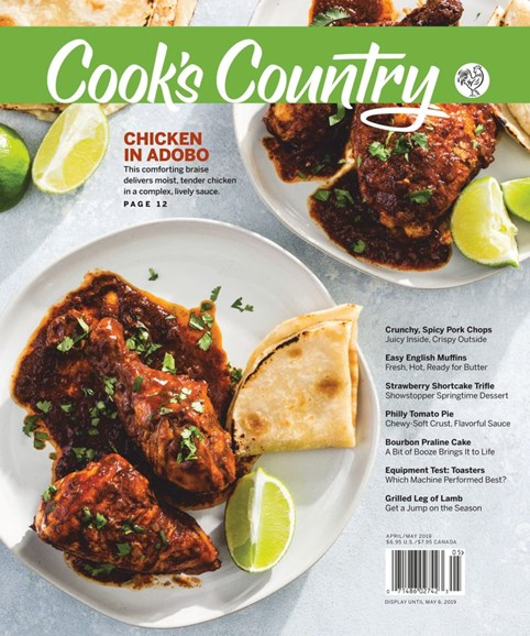 Cook's Country Cover - 4/1/2019