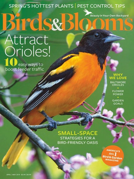 Birds & Blooms Cover - 4/1/2019