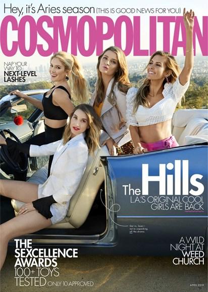 Cosmopolitan Cover - 4/1/2019